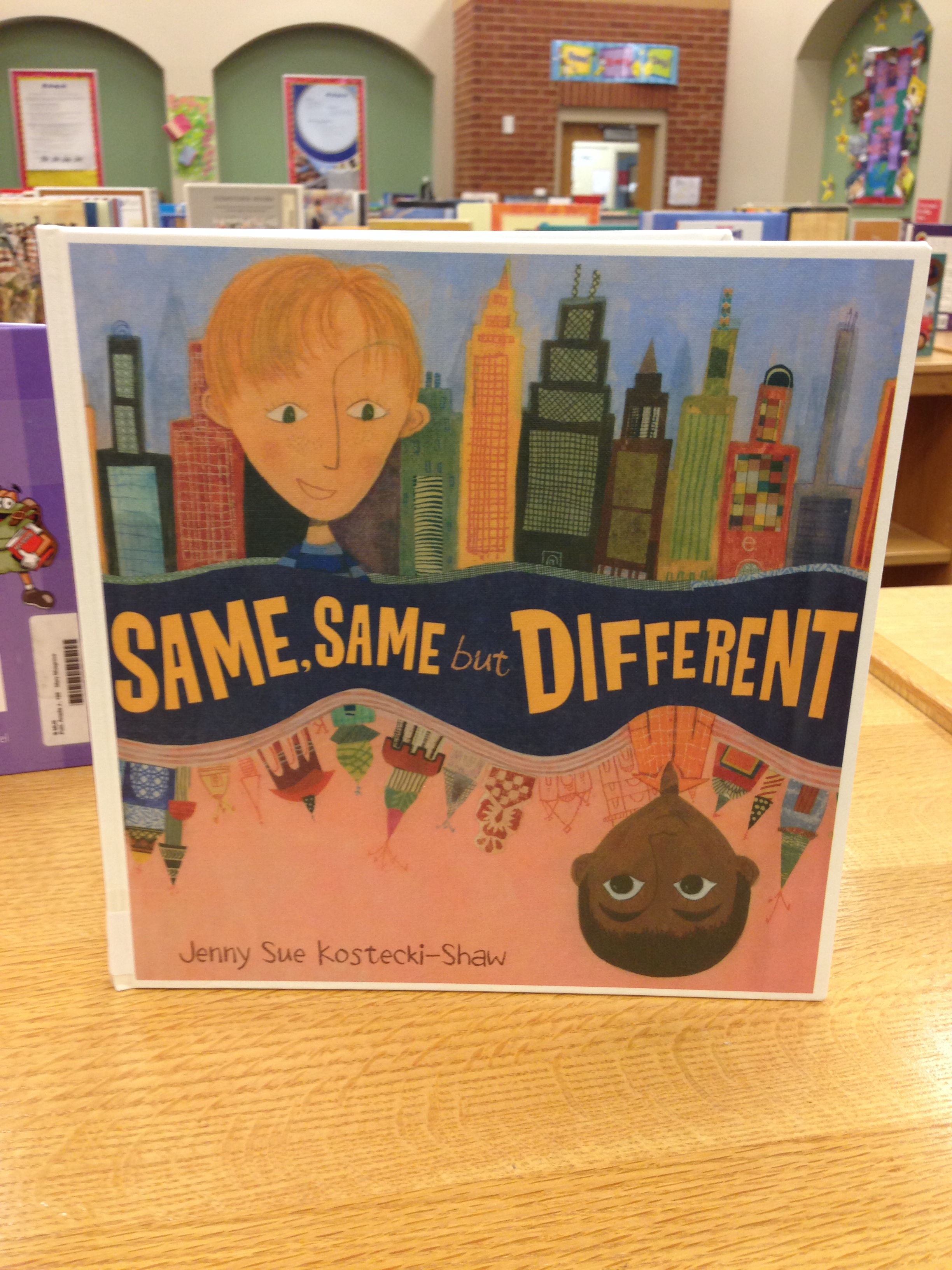 Same, Same But Different By Jenny Sue Kosteckishaw